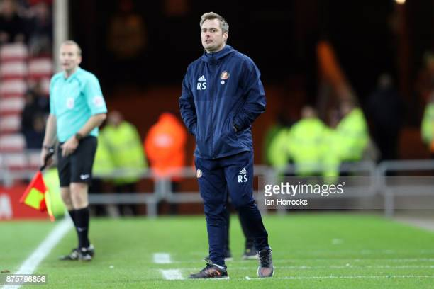 Sunderland coach Robbie Stockdale during the Sky Bet Championship match between Sunderland and Millwall at the Stadium of Light on November 18 2017...