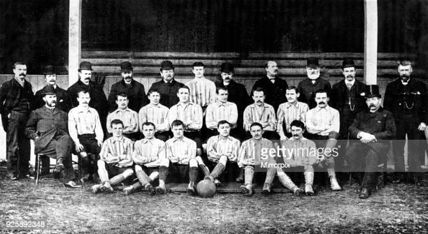 Sunderland football team - 1892 Back Row :T Watson , J McClintock, J McMillan, W Pickersgill, T Carter, E J Doig, J Marr, J Fenton, J Cooke, W T...