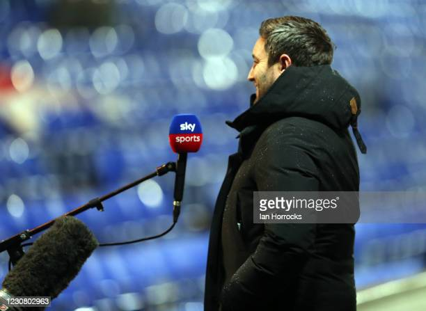 Sunderland head coach Lee Johnson before the Sky Bet League One match between Ipswich Town and Sunderland at Portman Road on January 26, 2021 in...
