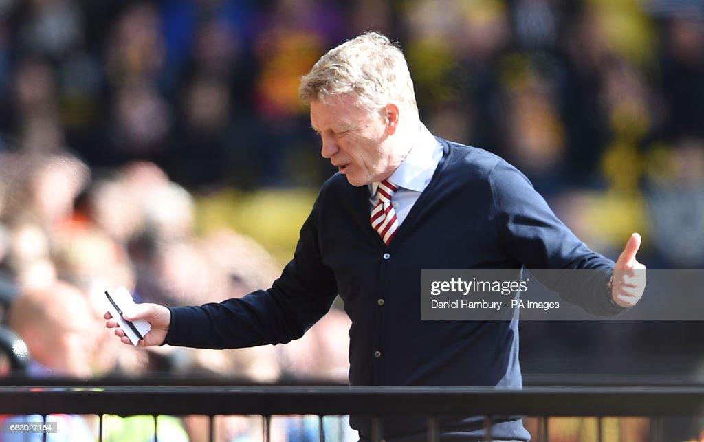 Watford v Sunderland - Premier League - Vicarage Road : News Photo
