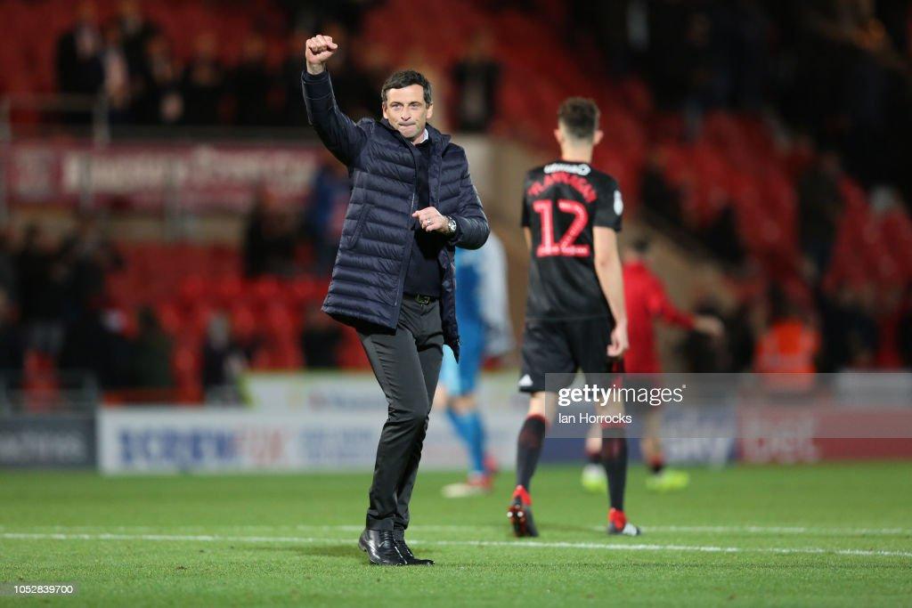Doncaster Rovers v Sunderland - Sky Bet League One : News Photo