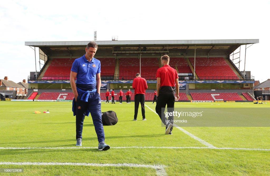 Grimsby Town v Sunderland: Pre-Season Friendly