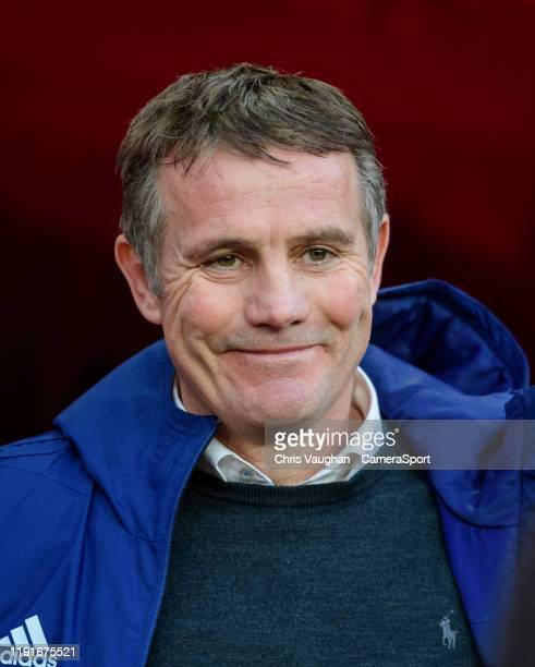Sunderland manager Phil Parkinson during the Sky Bet League One match between Sunderland and Lincoln City at Stadium of Light on January 4, 2020 in...