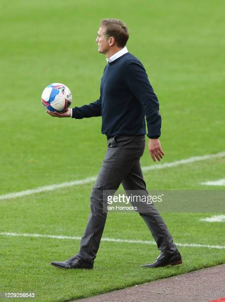 Sunderland manager Phil Parkinson during the Sky Bet League One match between Sunderland and Portsmouth at Stadium of Light on October 24 2020 in...