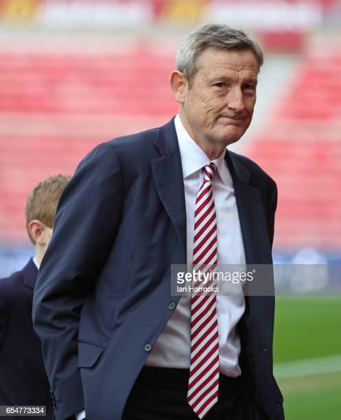 Sunderland owner Ellis Short before the Premier League match between Sunderland and Burnley at Stadium of Light on March 18 2017 in Sunderland England