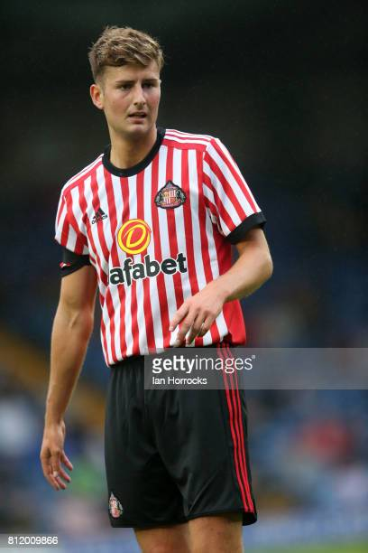 Sunderland player Ethan Robson at Gigg Lane during a preseason friendly between Bury and Sunderland on July 7 2017 in Bury United Kingdom
