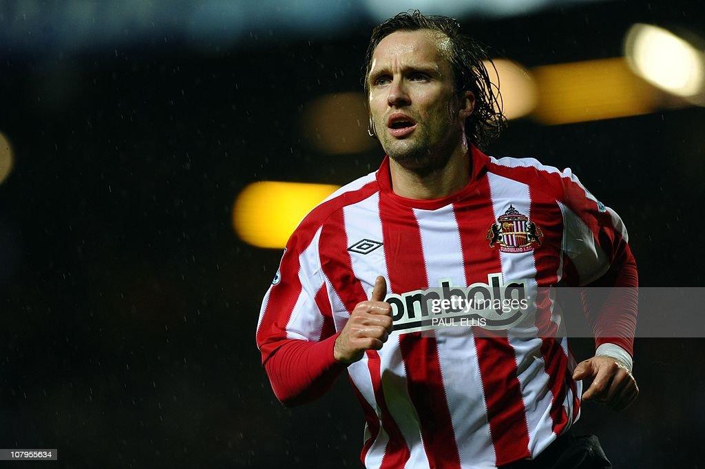 Sunderland's Dutch midfielder Boudewijn : News Photo