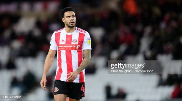 Sunderland's Jordan Willis during the Sky Bet League One match between Sunderland and Lincoln City at Stadium of Light on January 4 2020 in...
