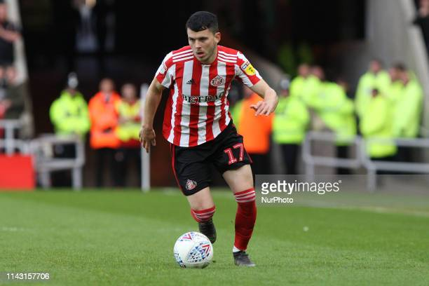 Sunderland's Lewis Morgan during the Sky Bet League 1 match between Sunderland and Portsmouth at the Stadium Of Light, Sunderland on Saturday 11th...