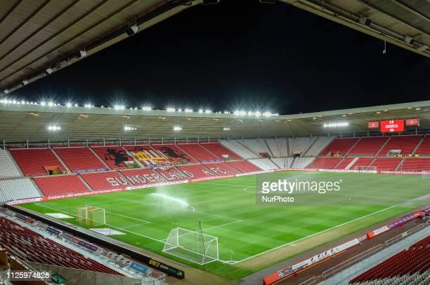 Sunderland's Stadium of Light prior to the Sky Bet League 1 match between Sunderland and Gillingham at the Stadium Of Light Sunderland on Tuesday...