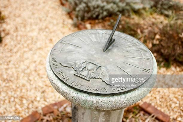 Sundial garden accessory