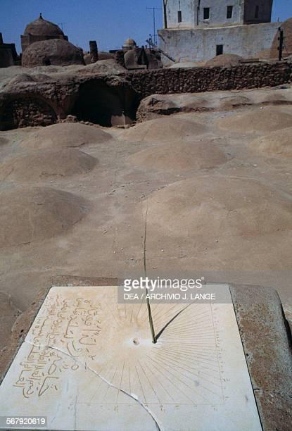 Sundial near the zaouia or zawiya Tamellhat Algeria 18th century