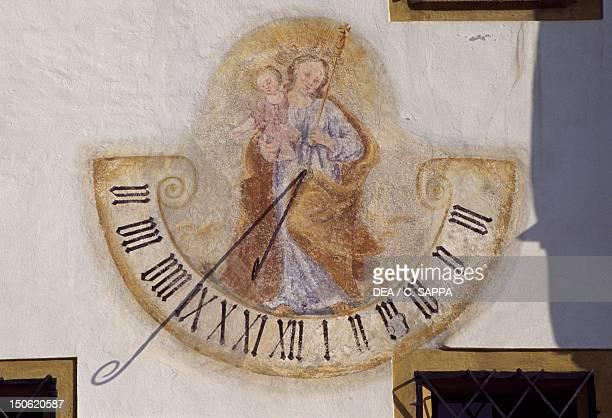 Sundial Town Hall Tamsweg Salzburgerland Austria 16th century