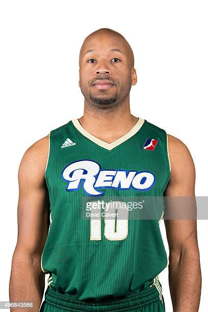 Sundiata Gaines of the Reno Bighorns poses for a photo during Media Day at the Cedar Park Recreation Center on November 10 2015 in Cedar Park Texas...