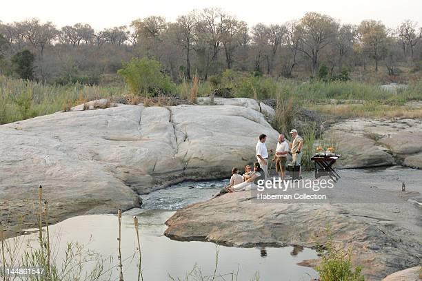 Sundowners in the Wild Kirkmans Camp Safari Lodge Mala Mala Kruger National Park South Africa Africa