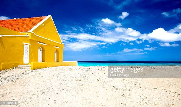 sun-drenched beach hous