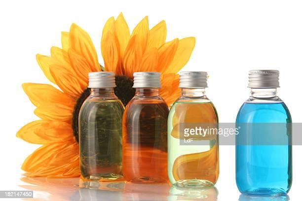 Tournesol et savon bouteilles
