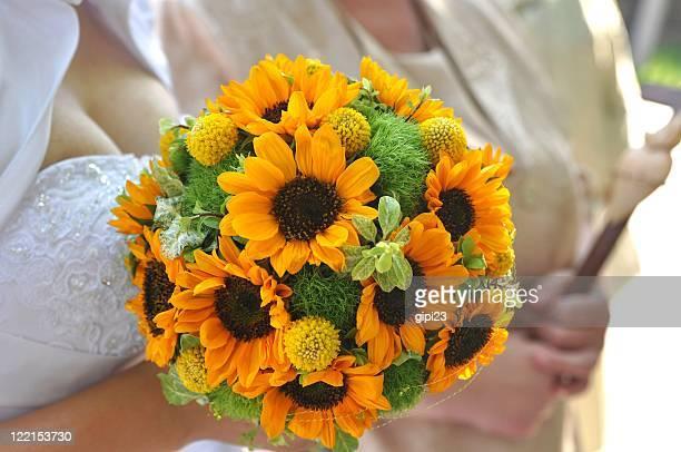 Sonnenblumen-Strauß