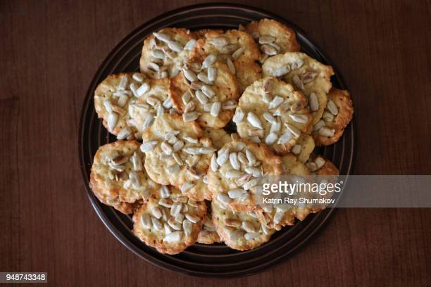 Sunflower Oat Crackers - Gluten Free