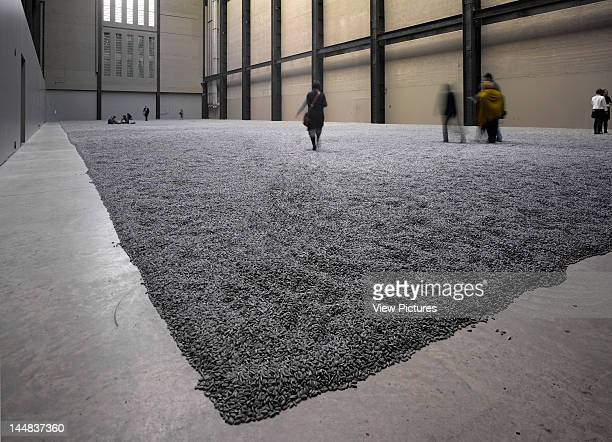 Sunflower Seeds Tate Modern Turbine Hall Bankside London Se1 United Kingdom Architect Ai Weiwei Ai Weiwei Sunflower Seeds Installation Tate Modern...