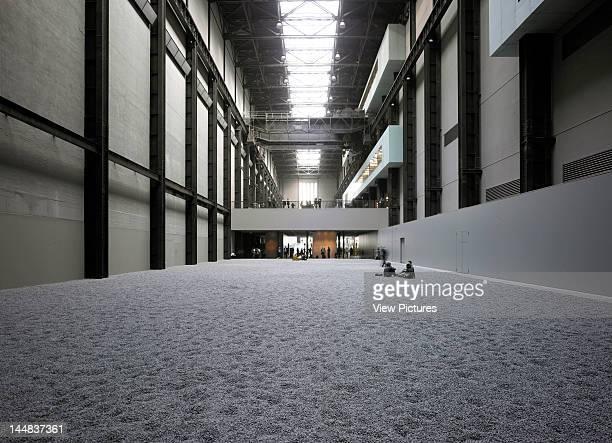 Sunflower Seeds Tate Modern Turbine Hall Bankside London Se1 United Kingdom Architect Ai Weiwei Ai Weiwei Sunflower Seeds Installation Tate Modern...