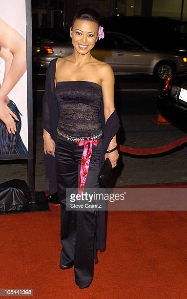 Sung Hi Lee during The Girl Next Door Los Angeles Premiere at Mann's Grauman Chinese in Hollywood California United States