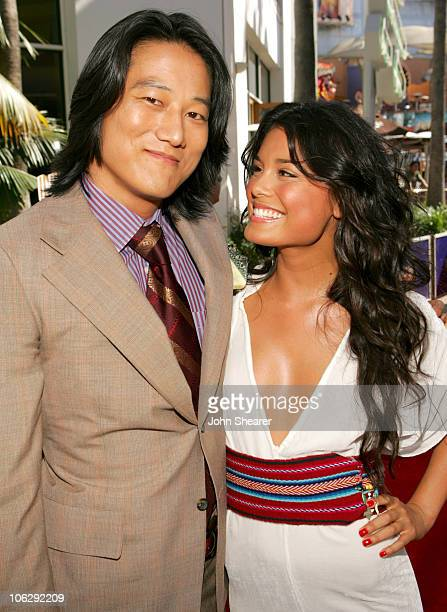Sung Kang and Nathalie Kelley during The Fast and the Furious Tokyo Drift Los Angeles Premiere Red Carpet at Universal Studios in Hollywood...