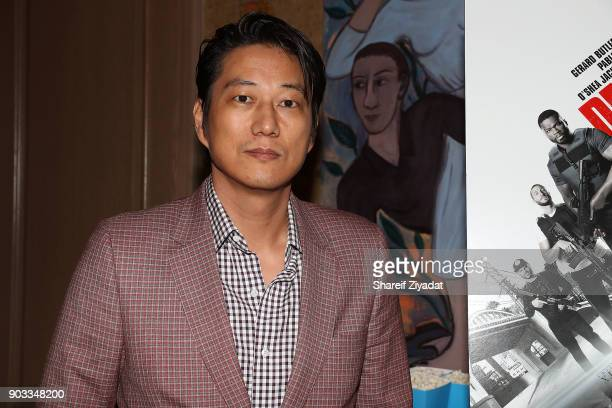 Sung Kang attends 'Den Of Thieves' Private Screening at the Whitby Hotel on January 9 2018 in New York City
