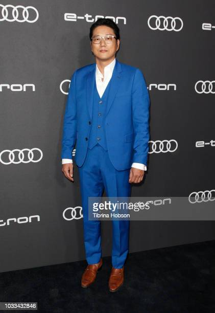 Sung Kang attends the Audi pre-Emmy celebration at Kimpton La Peer Hotel on September 14, 2018 in West Hollywood, California.