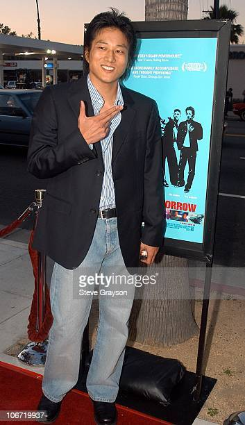 Sung Kang during Better Luck Tomorrow Los Angeles Premiere at Landmark Cecchi Gori Fine Arts Theater in Beverly Hills California United States