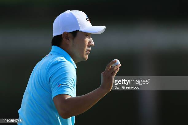Sung Kang of South Korea during the second round of the Arnold Palmer Invitational Presented by MasterCard at the Bay Hill Club and Lodge on March 06...