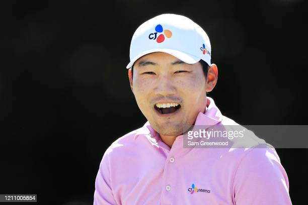 Sung Kang of South Korea during the third round of the Arnold Palmer Invitational Presented by MasterCard at the Bay Hill Club and Lodge on March 07...