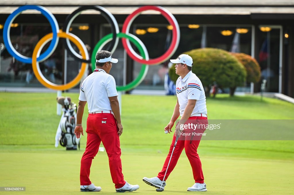 Golf - Olympics: Day 4 : News Photo