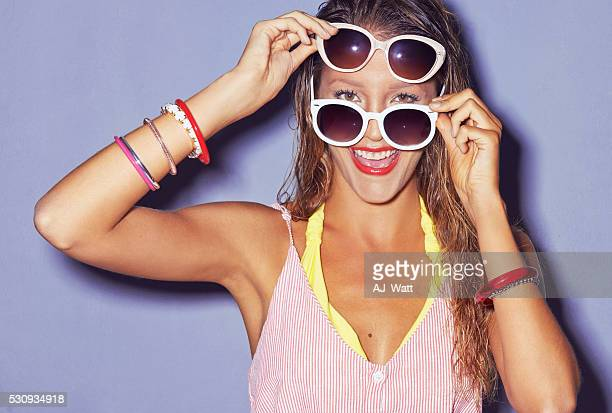 Sunglasses, like red lipstick change everything