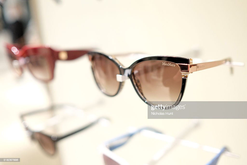 872a114586f Sunglasses on display at Max Mara s celebration of the YoungArts New ...