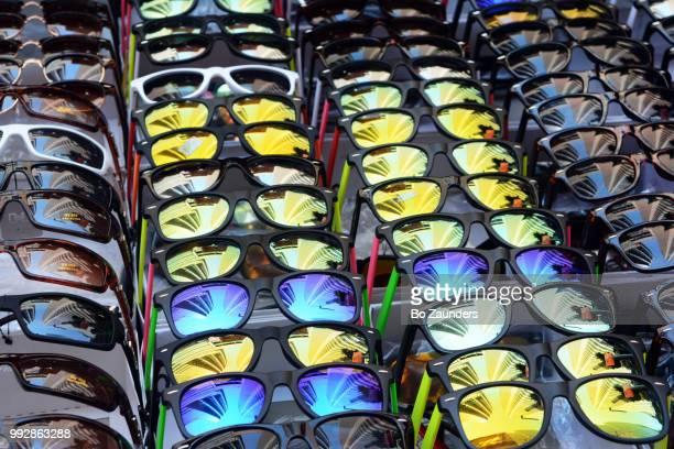 sunglasses on display in New York City.