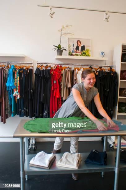 Sunhee Moon clothing store.