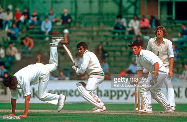 Sunil Gavaskar batting for India during his innings of 221 runs in the 4th Test match between England and India at The Oval, London, 4th September...