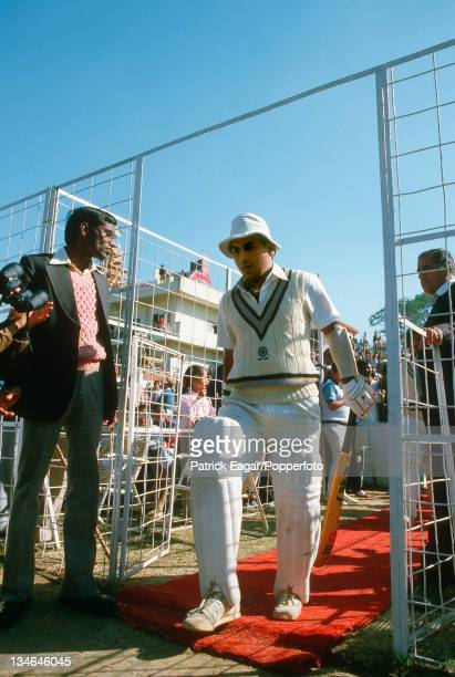 Sunil Gavaskar, India v England, 2nd Test, Delhi, Dec 84.