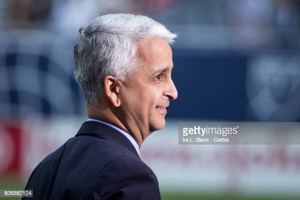 Sunil Gulati President of the United States Soccer Federation during the MLS AllStar match between the MLS AllStars and Real Madrid at the Soldier...