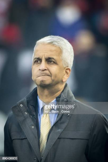Sunil Gulati president of the United States Soccer Federation prior to the start of the 2017 Audi MLS Championship Cup match between Toronto FC and...