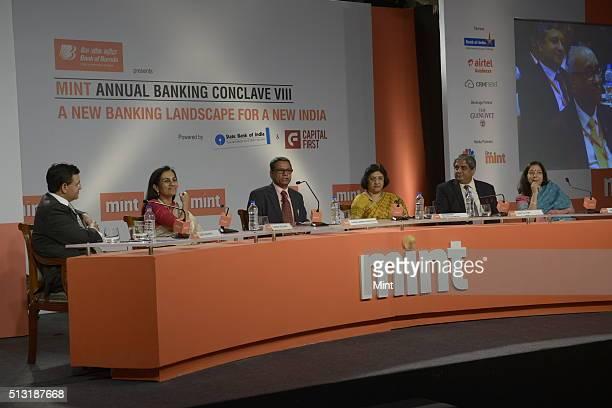 Sunil Kaushal, Regional Chief Executive, Standard Chartered Bank India, Chanda Kochhar, MD and CEO of ICICI Bank Ltd., Tamal Bandyopadhyay,...