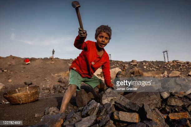 Sunil Mathu is one of the many children that are working in the Jharia coal fields where a large amount of India's coal is mined. According to the...