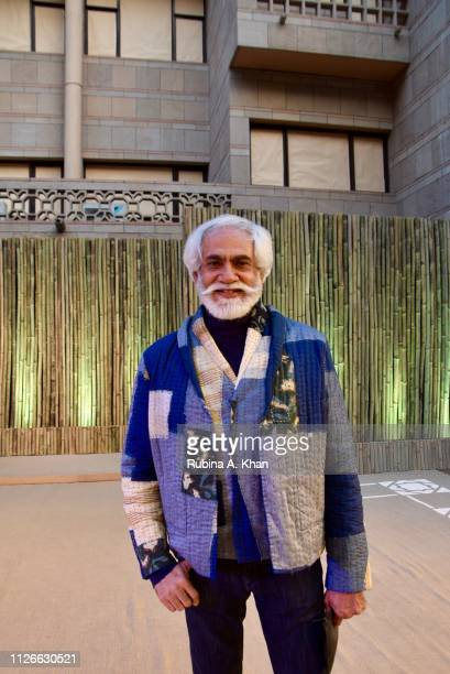 Sunil Sethi President of the Fashion Design Council Of India at the Made In South Asia fashion show on January 31 2019 in New Delhi India