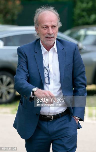 Suning Sports Technical Director Walter Sabatini attends at the club's training ground Suning Training Center in memory of Angelo Moratti on June 9...