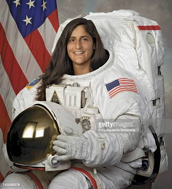 Sunita Williams American Astronaut Who Holds The Record For Longest Space flight By A Woman Photographed In 2004