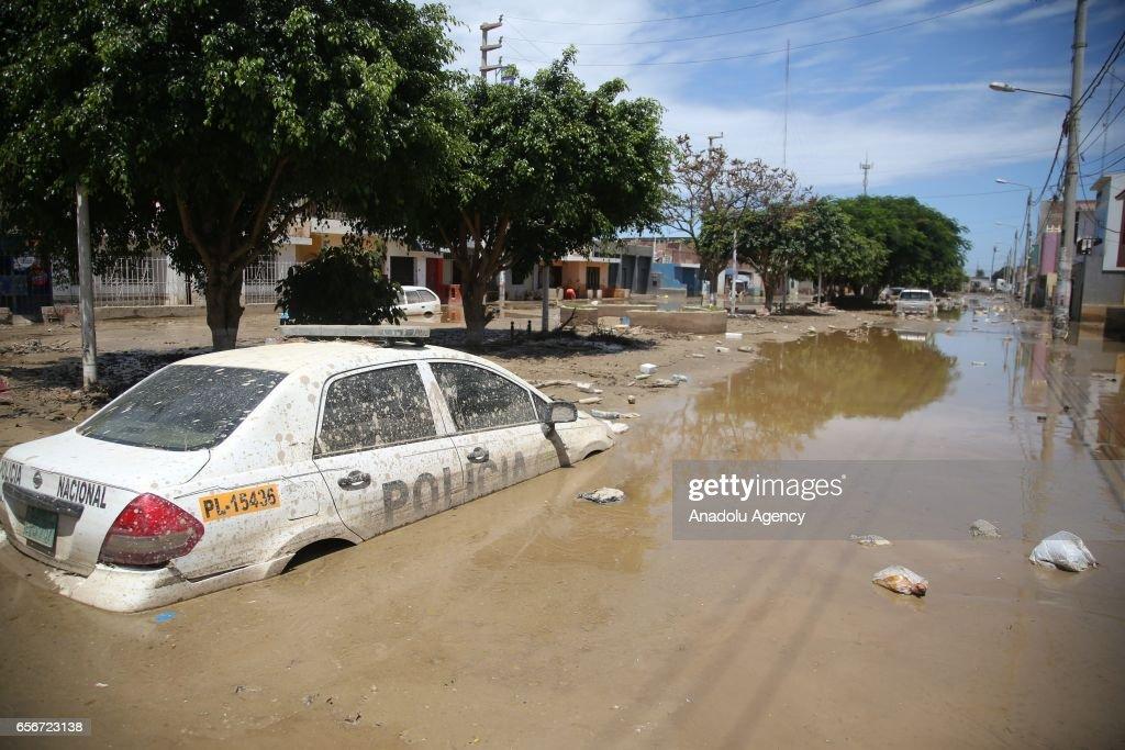 Floods in Peru : News Photo