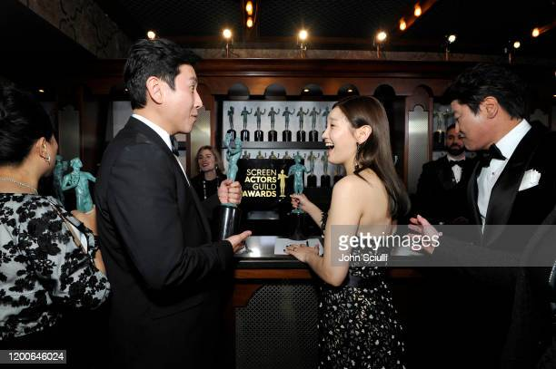 Sunkyun Lee and attends the 26th Annual Screen ActorsGuild Awards at The Shrine Auditorium on January 19 2020 in Los Angeles California 721453