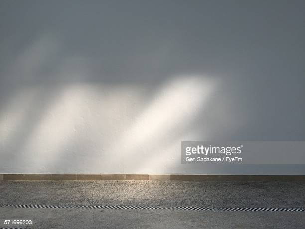 Sunlight Beams On White Wall