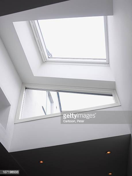 Sunlight coming in though skylight